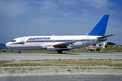 Spantax (Sabena) Boeing 737-229 OO-SDD (msn 20910) PMI (Christian Volpati Collection). Image: 947906.