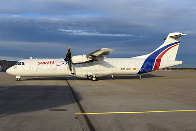 Swiftair (Spain) ATR 72-211 (F) EC-JQF (msn 147) OSL (Ton Jochems). Image: 936988.