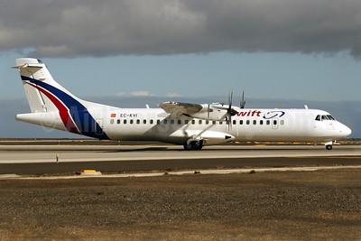 Swiftair (Spain) ATR 72-212A (ATR 72-500) EC-KVI (msn 824) TFS (Javier Rodriguez). Image: 901732.