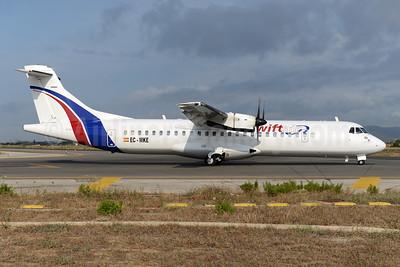 Swiftair (Spain) ATR 72-212A (ATR 72-500) EC-MKE (msn 494) PMI (Ton Jochems). Image: 955519.