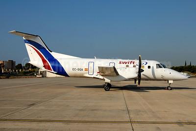Swiftair (Spain) Embraer EMB-120RT Brasilia EC-GQA (msn 120027) PMI (Ton Jochems). Image: 955520.