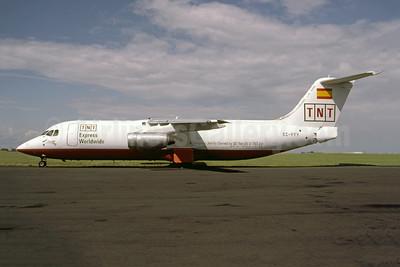 TNT Express Worldwide - Pan Air Líneas Aéreas BAe 146-300 (F) EC-FFY (msn E3154) ORY (Pepscl). Image: 952592.
