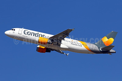 Condor - Thomas Cook Airlines (Balearics) Airbus A320-212 EC-NAD (msn 1437) PMI (Javier Rodriguez). Image: 946093.