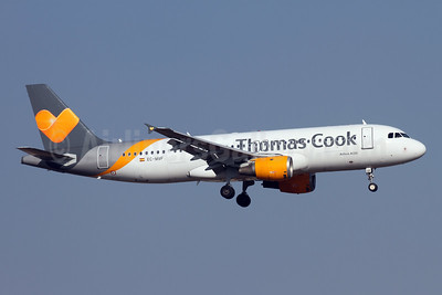 Thomas Cook Airlines (Balearics) Airbus A320-212 EC-MVF (msn 1381) AYT (Andi Hiltl). Image: 942714.