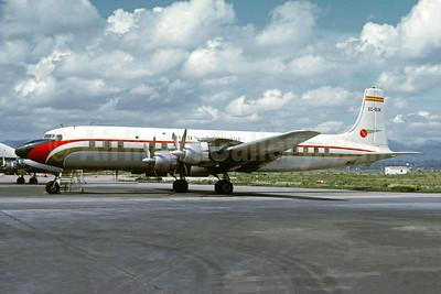 Trans Europa - Transeuropa Compañía de Aviación Douglas DC-7C Seven Seas EC-BJK (msn 44874) PMI (Jacques Guillem Collection). Image: 946957.