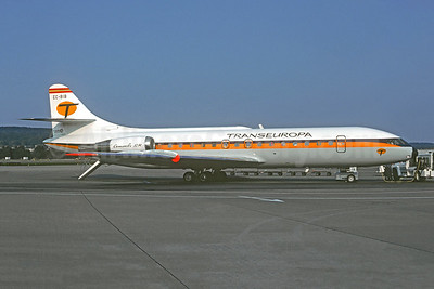 Transeuropa Compañía de Aviación Sud Aviation SE.210 Caravelle 10B1R EC-BIB (msn 223) ZRH (Christian Volpati Collection). Image: 946958.