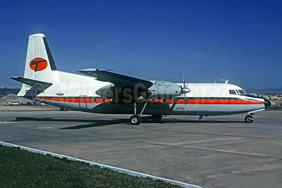 Transeuropa Compañía de Aviación Fokker F.27 Mk. 600 EC-BOA (msn 10348) SVQ (Christian Volpati Collection). Image: 946962.