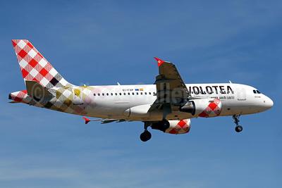 Volotea Airbus A319-111 EI-FXP (msn 2258) PMI (Javier Rodriguez). Image: 938260.