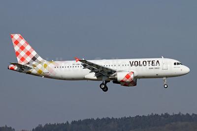 Volotea Airbus A320-214 OE-LMO (msn 3597) ZRH (Andi Hiltl). Image: 953099.