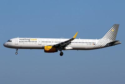 Vueling Airlines (Vueling.com) Airbus A321-231 WL EC-MRF (msn 7714) PMI (Javier Rodriguez). Image: 938708.