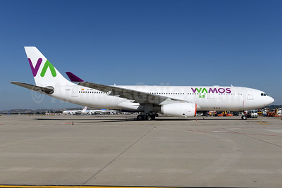 Wamos Air Airbus A330-243 EC-MNY (msn 261) MAD (Ton Jochems). Image: 936984.