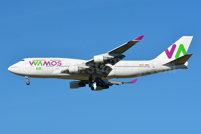 Wamos Air Boeing 747-4H6 EC-MRM (msn 28435) BSL (Paul Bannwarth). Image: 946629.