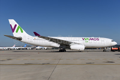 Wamos Air Airbus A330-243 EC-MJS (msn 265) MAD (Ton Jochems). Image: 936983.