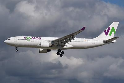 Wamos Air Airbus A330-223 EC-MTT (msn 454) LGW (Richard Vandervord). Image: 953745.