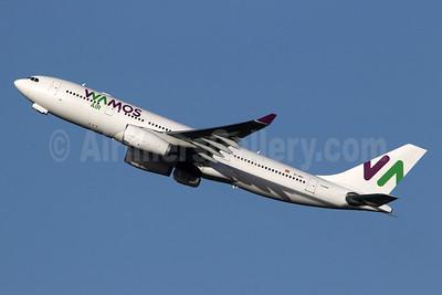 Wamos Air Airbus A330-243 EC-MNY (msn 261) LGW (SPA). Image: 944876.