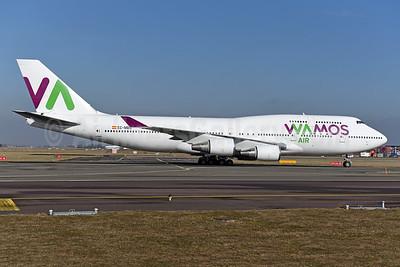 Wamos Air Boeing 747-419 EC-MDS (msn 26910) AMS (Ton Jochems). Image: 941157.