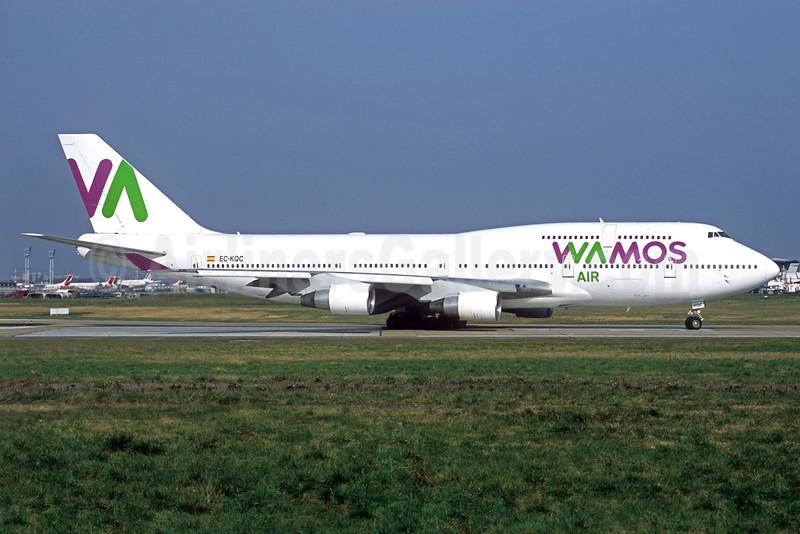 Wamos Air Boeing 747-412 EC-KQC (msn 26549) ORY (Jacques Guillem). Image: 935839.