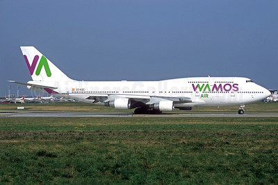 Wamos Air Boeing 747-412 EC-KQC (msn 26549) ORY (Jacques Guillem). Image: 935839.