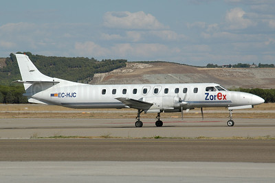 ZorEx Air Transport Swearingen SA226TC Metro II EC-HJC (msn TC-318) MAD (Ton Jochems). Image: 953365.