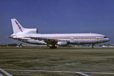Air Ops (Air Operations of Europe) Lockheed L-1011-385-1 TriStar 1 SE-DSB (msn 1059) LHR (Richard Vandervord). Image: 945646.