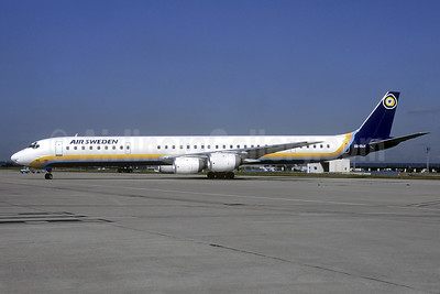 Air Sweden (1st) McDonnell Douglas DC-8-71 SE-DLH (msn 45994) ORY (Christian Volpati Collection). Image: 940244.