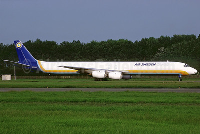 Air Sweden Cargo (1st) McDonnell Douglas DC-8-71 (F) SE-DLM (msn 45971) OST (Perry Hoppe). Image: 911235.