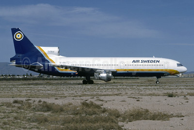 Air Sweden (1st) Lockheed L-1011-385-1 TriStar 100 SE-DPR (msn 1231) TUS (Bruce Drum Collection). Image: 955287.