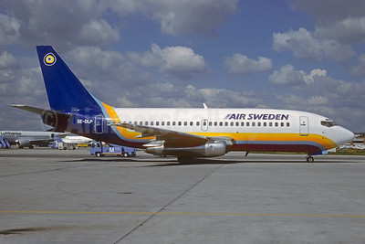 Air Sweden (Time Air Sweden) (1st) Boeing 737-205 SE-DLP (msn 19409) MUC (Christian Volpati Collection). Image: 931721.