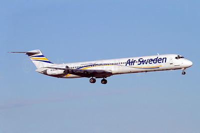 Air Sweden (2nd) McDonnell Douglas DC-9-81 (MD-81) SE-DMT (msn 48003) ARN (Stefan Sjogren). Image: 905378.