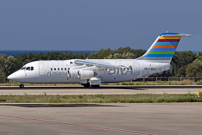 BRA-flygbra.se (Braathens Regional) Avro (BAe) RJ85 SE-DJN (msn E2231) EFL (Richard Vandervord). Image: 948940.
