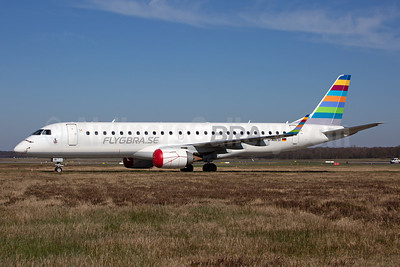 BRA-flygbra.se (Braathens Regional) (WDL Aviation) Embraer ERJ 190-100LR D-AWSI (msn 19000074) CGN (Rainer Bexten). Image: 951192.