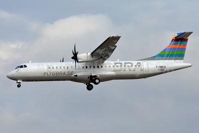 BRA-flygbra.se (Braathens Regional) ATR 72-212A (ATR 72-600) F-WWEN (SE-) (msn 1354) TLS (Paul Bannwarth). Image: 935323.