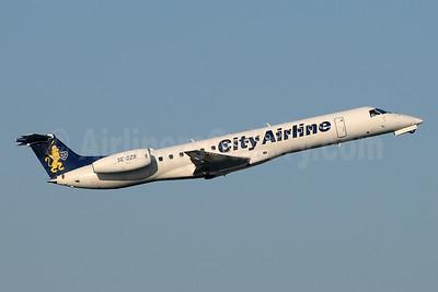 City Airline Embraer ERJ 145EP (EMB-145EP) SE-DZB (msn 145113) MAN (Rob Skinkis). Image: 951030.