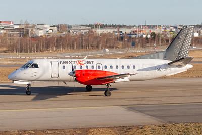 Next Jet SAAB 340A SE-LMR (msn 141) ARN (Stefan Sjogren). Image: 941982.