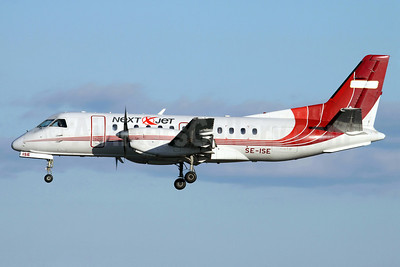 Next Jet SAAB 340A SE-ISE (msn 156) (Golden Air colors) ARN (Stefan Sjogren). Image: 902984.