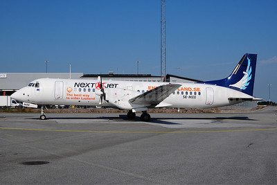 Next Jet BAe ATP SE-MEE (msn 2019) (Sata Air Acores colors - EnterLapland.se) ARN (Ton Jochems). Image: 908926.