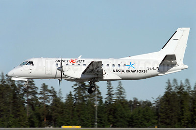 Next Jet SAAB 340A SE-LJN (msn 114) (Nasta, Kramfors) ARN (Stefan Sjogren). Image: 903055.
