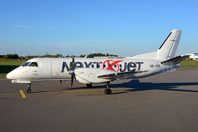 Next Jet (Goldenair) SAAB 340A SE-ISE (msn 156) LPI (Ton Jochems). Image: 939118.