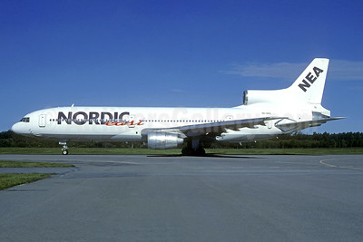 Nordic East Airways-NEA Lockheed L-1011-385-1 TriStar 1 SE-DPX (msn 1091) ARN (Christian Volpati Collection). Image: 942438.