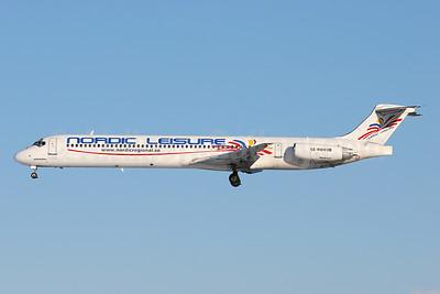 Nordic Leisure McDonnell Douglas DC-9-83 (MD-83) SE-RDM (msn 49662) ARN (Stefan Sjogren). Image: 940595.