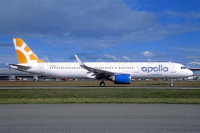 Apollo by Novair (Sweden) Airbus A321-253N WL SE-RKA (msn 7746) FRA (Jacques Guillem Collection). Image: 943740.