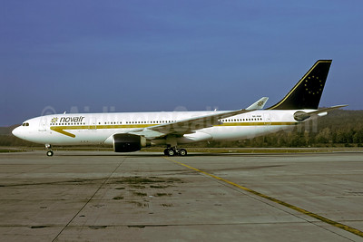 Novair (Sweden) Airbus A330-223 SE-RBF (msn 353) (Air Luxor colors) ZRH (Rolf Wallner). Image: 947408.