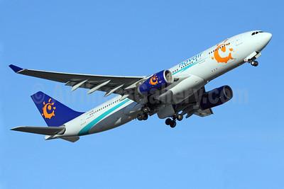 Novair (Sweden)-Orbest Airlines Airbus A330-243 CS-TRA (msn 461) (Iberworld colors) ARN (Stefan Sjogren). Image: 902616.