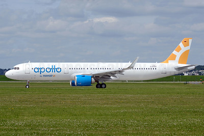 The first Airbus A321neo for Novair, leased from ALC