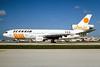 """Scanair McDonnell Douglas DC-10-10 SE-DHT (msn 47833) """"Sun Jet"""" MIA (Bruce Drum). Image: 104144."""