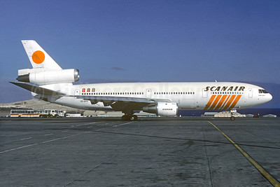 Scanair McDonnell Douglas DC-10-30 SE-DFH (msn 46954) LPA (Christian Volpati Collection). Image: 936289.