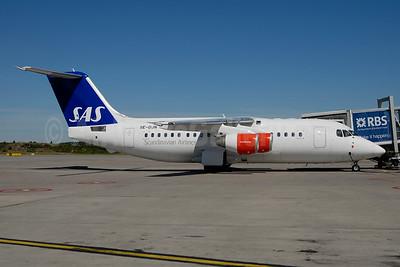 Scandinavian Airlines-SAS - Transwede Airways (2nd) BAe RJ85 SE-DJN (msn E2231) ARN (Ton Jochems). Image: 953503.
