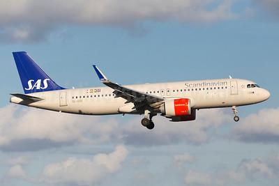 Scandinavian Airlines-SAS Airbus A320-251N WL SE-DOX (msn 7489) ARN (Stefan Sjogren). Image: 939104.