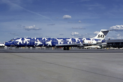 "Blue version of 1996 ""planes"" special livery"