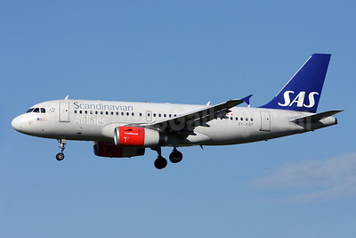 Scandinavian Airlines-SAS Airbus A319-132 OY-KBP (msn 2888) ZRH (Andi Heltl). Image: 911286.